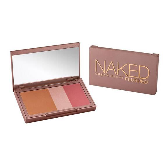 Naked Flushed in color Naked