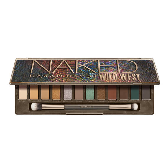 NAKED WILD WEST PALETTE in color