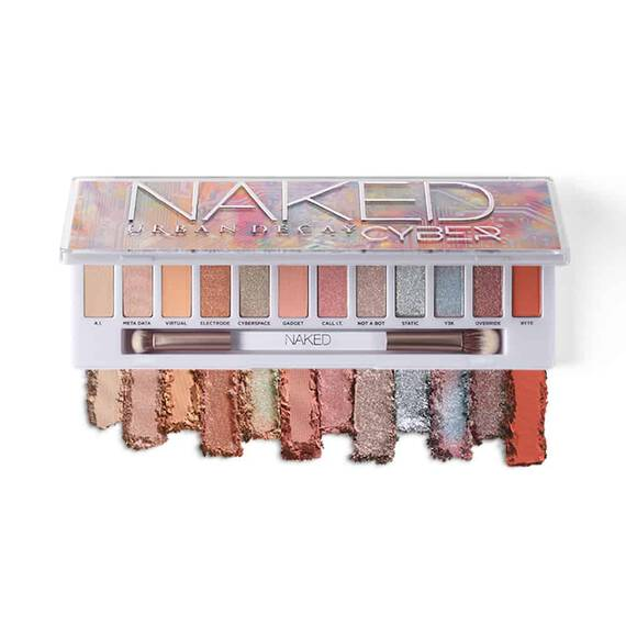 Naked Cyber Palette in color