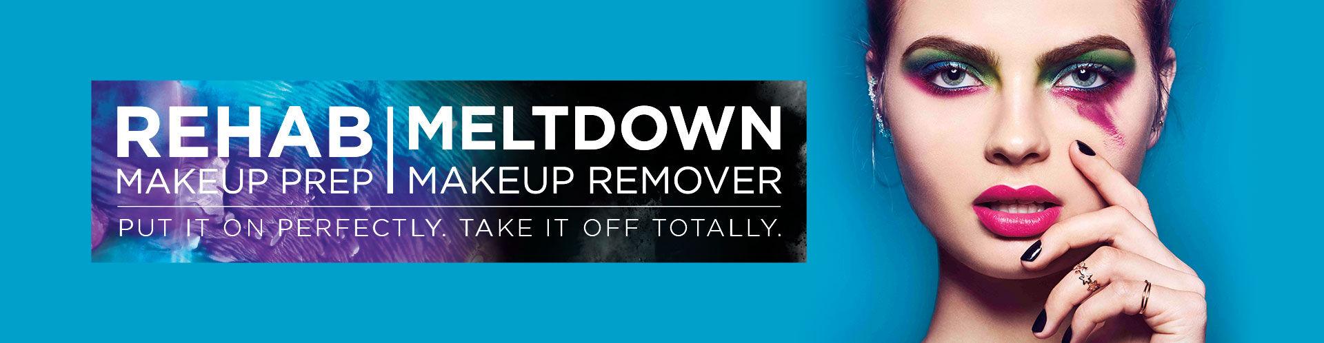 Maquillaje de Preparación Rehab | Desmaquillante Meltdown